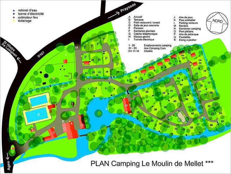 plan camping agen